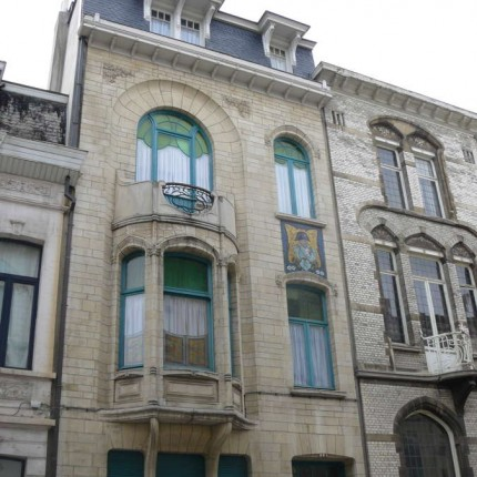 Anvers, quartier Zurenborg, rue Waterloo