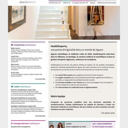 HealthExperts : Home