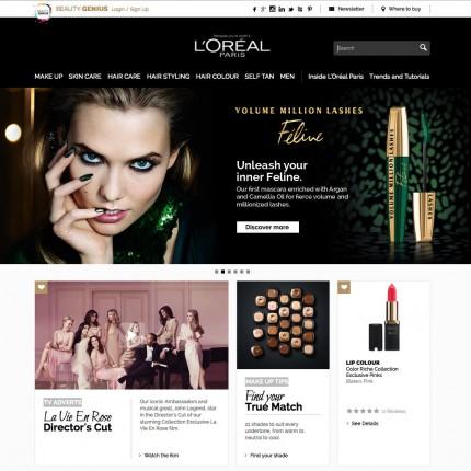 Home L'Oréal Paris UK