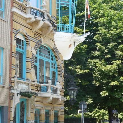 Anvers, immeuble des 5 continents 1901 (F. Smet-Verhas)