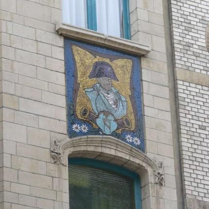 Anvers, quartier Zurenborg, rue Waterloo