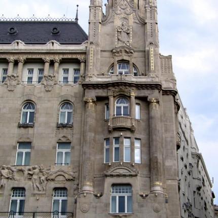 Budapest, Hôtel Gresham