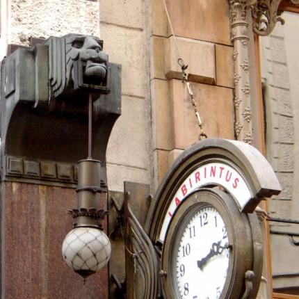 Budapest, immeuble Art nouveau
