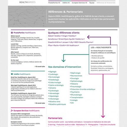 HealthExperts : Partenaires
