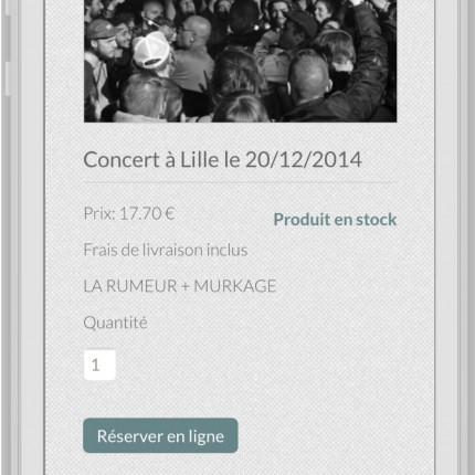 Mobile : concert (détail)