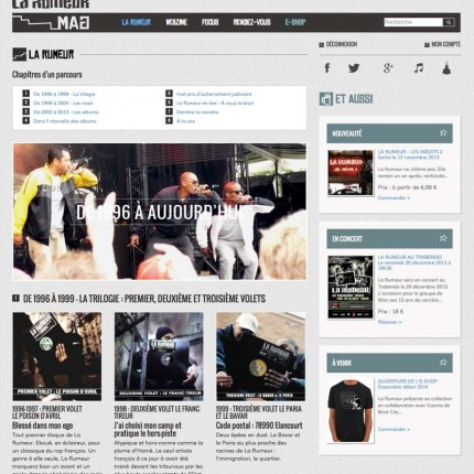 LaRumeurMag.com : Histoire du groupe