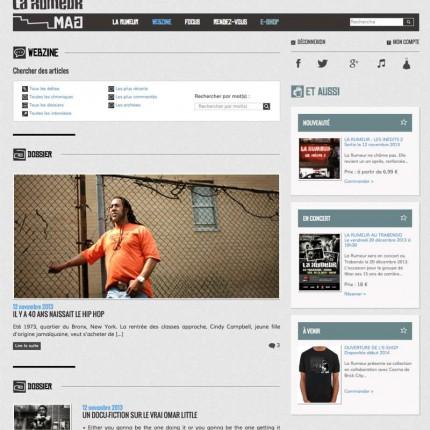 LaRumeurMag.com : Webzine / Actualités