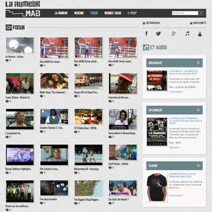 LaRumeurMag.com : Focus / Actualités vidéo