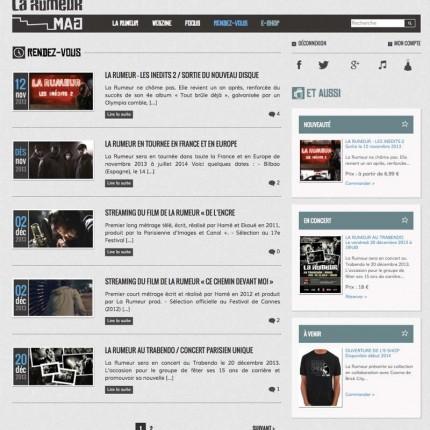 LaRumeurMag.com : Rendez-vous / Agenda