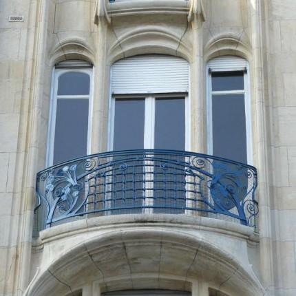 Nancy, Immeuble Margo, 1902 (Eugene Vallin & Paul Charbonier)