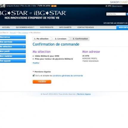 BGStar.fr : Commande de produit