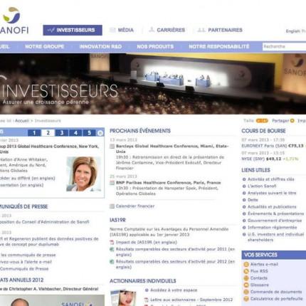 Sanofi Corpo :Investisseurs