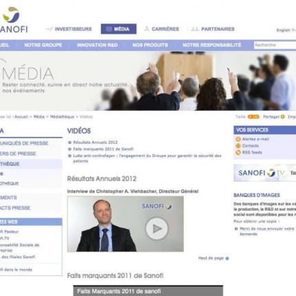 Sanofi Corpo : Media