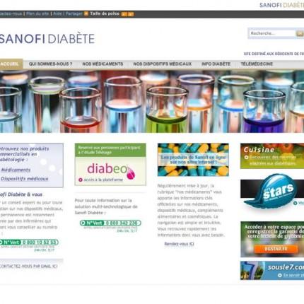 Sanofi Diabète : Home