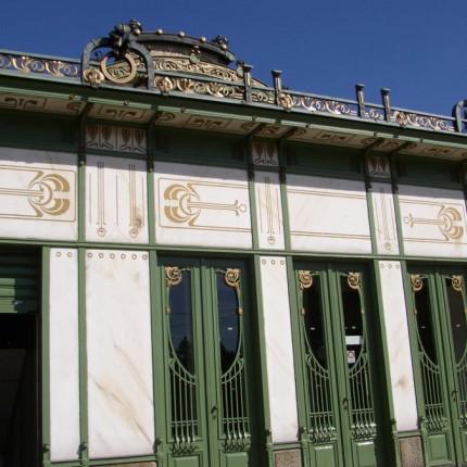 Vienne, Station de métro Otto Wagner