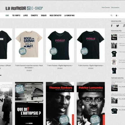 E-shop La Rumeur : Home