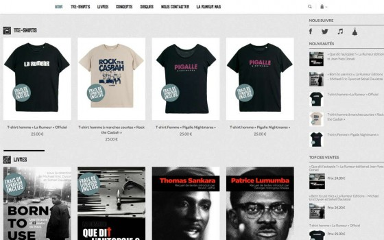 E-shop La Rumeur : Home
