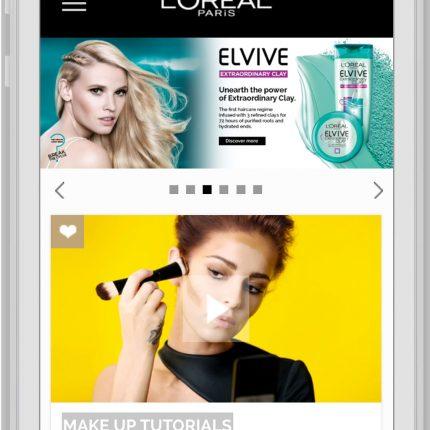L'Oréal Mobile Home