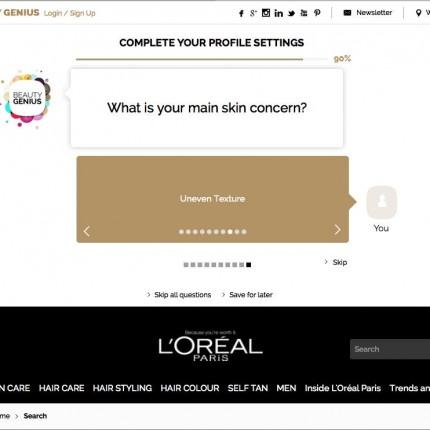 Beauty Genius L'Oréal Paris UK