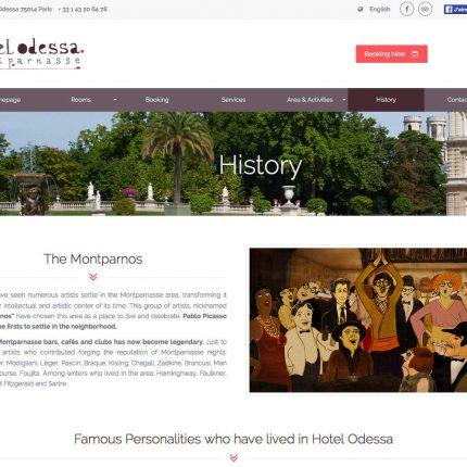 Hotel Odessa Histoire