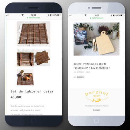 barzhel version mobile produit et actualités