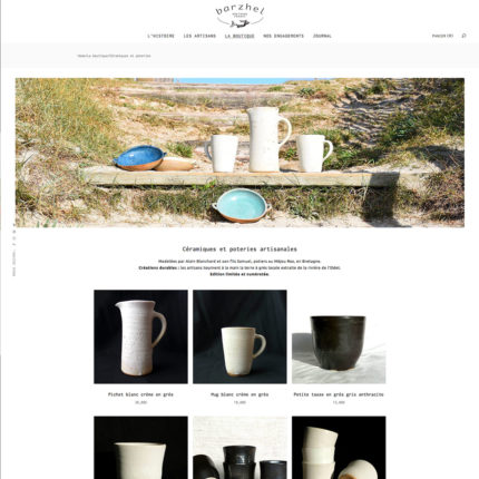 barzhel.com page catégorie